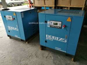 BK15-10 20HP 77cfm/10Bar Belt Connecting Stationary Screw Air Compressor pictures & photos