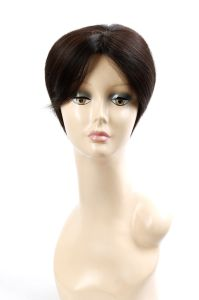 High Quality Brazilian Human Hair Full Lace Wig Short Size pictures & photos