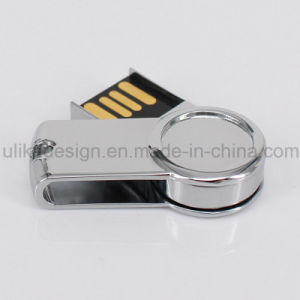 Print Your Logo on Metal USB Flash Driver (UL-M048) pictures & photos