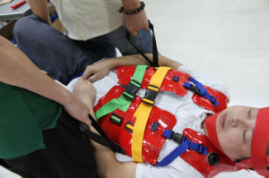 Mc-1b005 First-Aid Equipment TPU Rapid Operation Vacuum Spine Splintage pictures & photos