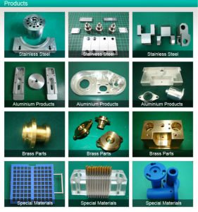 CNC Machining Parts with Good Surface Treatment pictures & photos