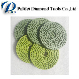 Resin Wet Flexible Floor Grinding Polishing Pad for Granite Marble pictures & photos