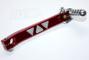Red 11mm CNC Heavy Duty Gear Lever Shifter Handle 110cc 125cc Pit PRO Quad Dirt Bike