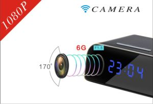 WiFi Camera Clock Hidden Sony 322 Len Full 1080P pictures & photos