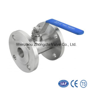 Forged Steel 1PC Flange Ball Valve pictures & photos