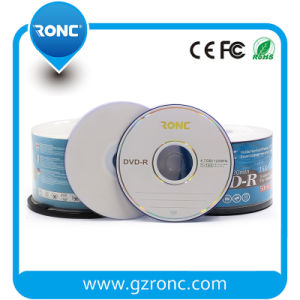 Printable White Inkjet Blank DVD-R Disc 16X pictures & photos