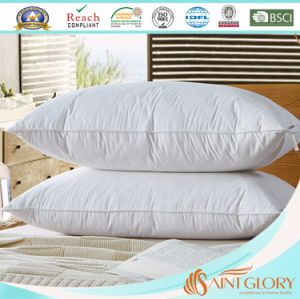 Hotel Goose Down Pillow with Pure Cotton Fabric 233tc Cover pictures & photos
