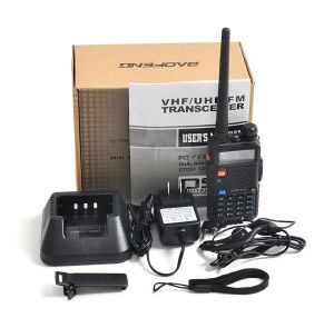 Baofeng Walkie Talkie Baofeng UV-5r VHF/UHF Dual Band 5W Handheld Ham Two Way Radio-Black pictures & photos