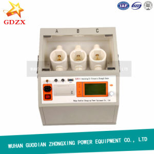 Three Cups Insulating Oil Dielectric Strength Tester pictures & photos