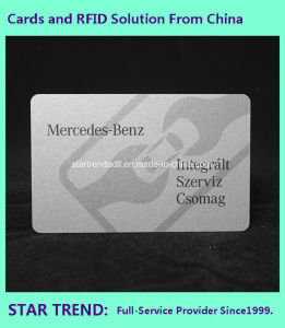 13.56MHz RFID Card with FM08 Made of PVC for Loyalty pictures & photos