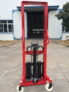 Hydraulic Hand Stacker with Handle pictures & photos