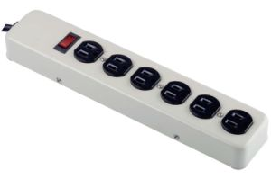 6 Outlets Surge Protector Power Strip with Metal Housing--UL/cUL Approval pictures & photos
