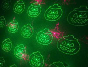 Halloween Twelve Pattern Red + Green Moving Garden Laser pictures & photos