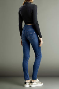 High Waisted Slim Jeans pictures & photos