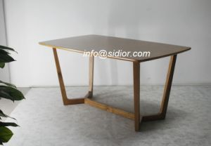 SD3008 modern Living Room Hotel Furniture Restaurant Furniture Wooden Dining Table pictures & photos