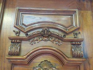 Nature Solid Wood Door Wholesale Entry Front Door (XS2-008) pictures & photos
