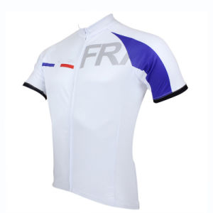 Men′s Sportwear Quick-Dry Short Sleeve Cycling Jersey pictures & photos