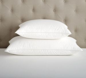 300 Tc White Goose Feather Filling Pillows for Hotel pictures & photos