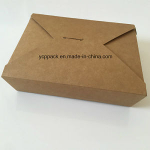Disposable Paper Food Take Away Box pictures & photos