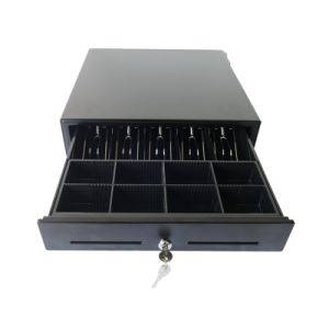 5 Bills 8 Coins or 4 Bills 8 Coins Metal Cash Register/Drawer/Box with ABS Plastic Cash Tray pictures & photos