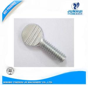 Customized Non-Standard Steel Thumb Screws with Environmental Zinc-Plating