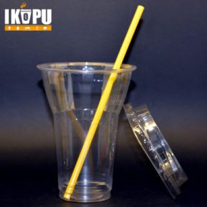 Custom Disposable Pet Plastic Cold Drink Cup Plastic Juicy Cup for Restaurant Coffee Shop pictures & photos