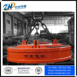 Circular Electromagnet Lifter for High Temperature Type pictures & photos