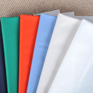 Spandex Stretch Polyester Twill Woven Fabric for Garment