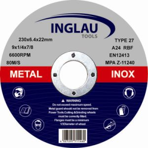 180X6.4X22.2mm Grinding Wheel pictures & photos