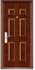 Department Iron Door (steel security door) pictures & photos