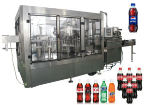 Complete Carbonated Soft Drinks Production Line for Coca Cola Pepsi pictures & photos