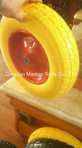 Maxtop Color Flat Free PU Foam Wheel pictures & photos