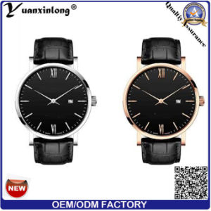 Yxl-132 Promotional New Design Men′s Watch Japan Movt Business Luxury Watch Wrist Watch Fashion Leather Watches pictures & photos
