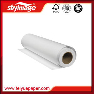 """52"""" (1320mm) Fa 120GSM Fast Dry Anti-Curled Sublimation Paper for Polyester-Based Fabric pictures & photos"""
