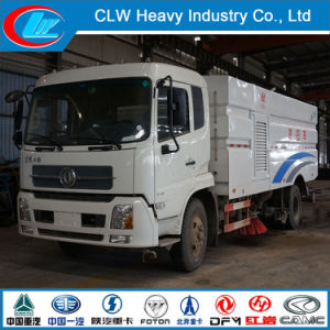Factory Supply Urban Outdoor Mobile Road Sweep Truck with Brushes pictures & photos