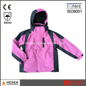 3 in 1 Ski Jacket Latest Girl Kids Padded Jacket pictures & photos