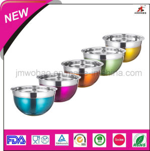 High Quality Stainless Steel Salad Bowl (FH-KTE08)