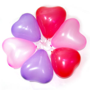 Heart Shaped Latex Balloon Toys for Valentine′s Day pictures & photos