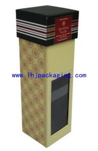 Luxury Souvenir Packaging Gift Box with Plastic PVC Window
