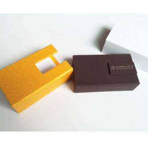 Cardboard Gold Coin Box with Velvet Insert