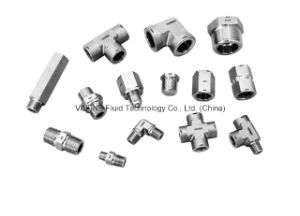 Stainless Steel Male/Female Thread Tee Pipe Fittings pictures & photos
