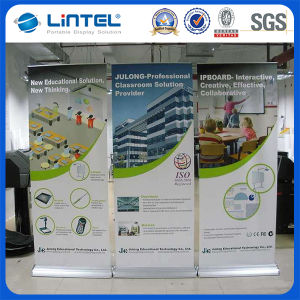 Two Adjustable Feet Banner Display Portable Roll up Display (LT-02C) pictures & photos