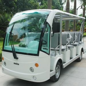 Marshell 14 Seats Electric Vehicle for Passenger Transportation (DN-14) pictures & photos