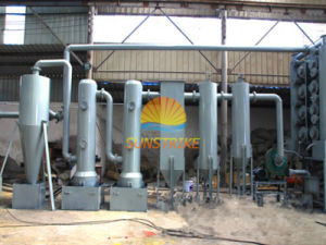 latest Design Sawdust Wood Dust Continuous Carbonization Furnace