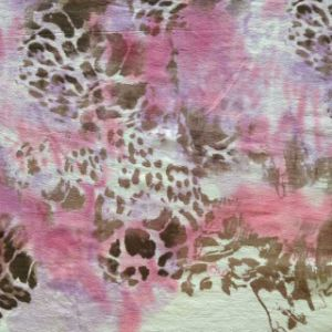 Printed Silk Ggt and Burn out Silk Opal