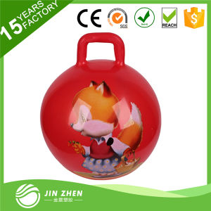 New & Trendy High Quality Inflatable PVC Jump Ball with Handle pictures & photos