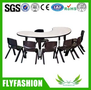 Hot Sale School Kid Fureniture Wooden Table Chair pictures & photos
