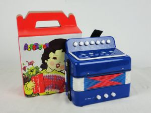 Color Practice 7 Keys Kids Piano Accordion for Sale pictures & photos