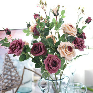 11 Colors Single Stem Wedding Rose Artificial Flower for Home Decoration (SW19950) pictures & photos