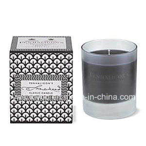 Scented Soy Glass Black Candle pictures & photos